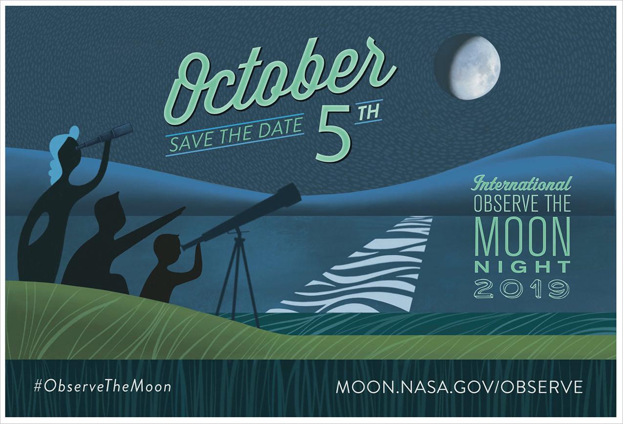 NASA Observe the Moon