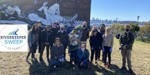 Riverkeeper Sweep 2021 at Transmitter Park